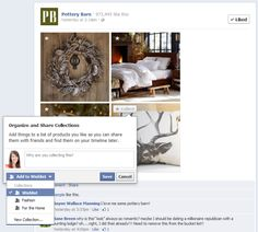 {Facebook Tests Pinterest-Style Feature Called 'Collections'} Opinions?
