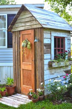 DIY storage shed, sm
