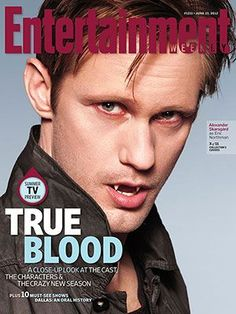 Alexander Skarsgård - Entertainment Weekly Magazine Cover [United States] (8 June 2012) True Blood