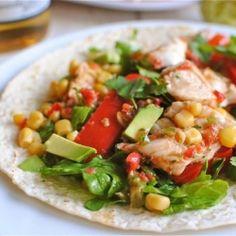 Tex-Mex Tilapia Tacos