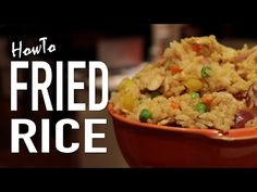 Fried Rice Recipe - HellthyJunkFood