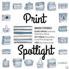 Print Spotlight for Spring/Summer 2017 Thirty-One - Brush Strokes #newcatalog   www.mythirtyone.com/lizaknopp
