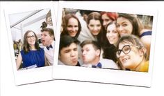 when all your friends wont fit in a single polaroid!