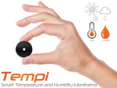 Tempi Is a Wearable Bluetooth Device That Gives Accurate Temperature and Humidity Readings.