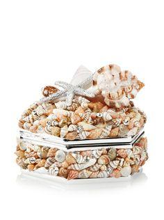 Isabella Adams Natural Sea Shell Keepsake Box with Swarovski Crystals, Silver, http://www.myhabit.com/redirect/ref=qd_sw_dp_pi_li?url=http%3A%2F%2Fwww.myhabit.com%2Fdp%2FB00I4R6O9C%3Frefcust%3D4HOSLXOGU7BBL24H3LZ54CQVFU