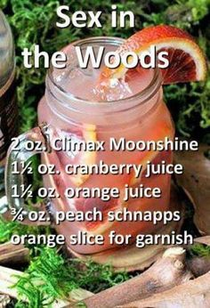 Delicious Halloween Cocktail Recipes for The Best Party Ever! sex in the woods halloween cocktail Liquor Drinks, Cocktail Drinks, Cocktail Recipes, Beverages, Halloween Cocktails, Refreshing Drinks, Yummy Drinks, Alcholic Drinks, Alcohol Drink Recipes