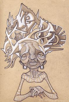Sketch Book by IHSQUARED , via Behance