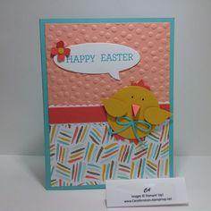 Easter Chick www.CarolArneson.stampinup.net