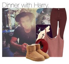 """""""With Harry. 1"""" by my-dreams29 ❤ liked on Polyvore featuring beauty, Topshop, Keds and UGG Australia"""
