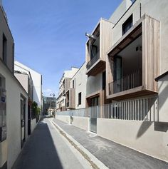 Social Housing + Artist Studios TETRIS; Paris, France - Moussafir Architectes Associés