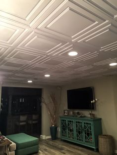 Awesome Types Of Basement Ceilings