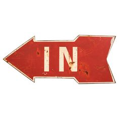 """In Arrow Wall Decor 10"""" H x 23"""" W $17.95 - Better with Age on Joss & Main"""