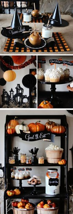 Halloween treats & tablescapes.