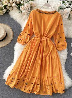 Stylish Dress Book, Stylish Dresses For Girls, Simple Dresses, Fancy Dress Design, Stylish Dress Designs, Indian Fashion Dresses, Girls Fashion Clothes, Girls Dresses Sewing, Stitching Dresses