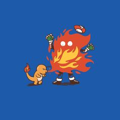 Pokémon Starters - Created by Cod DesignsAvailable for sale now on ShirtPunch.