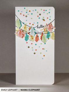 Art♥from♥the♥Heart: {Mama Elephant} Party Kit Promo