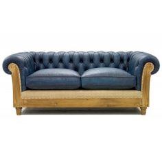 sofá Chesterfield Essence azul