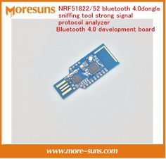 Fast Free Ship NRF51822/52 bluetooth 4.0 dongle sniffing tool strong signal protocol analyzer Bluetooth 4.0 module Demo board