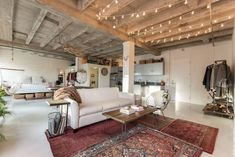 Vacation Rentals, Homes, Experiences & Places - Airbnb Loft in Los Angeles, United States. Gorgeous Loft perfect for photo shoots! Our loft is right in th Lofts For Rent, Loft Interior Design, Interior Design, Interior Design Rugs, Home, Interior, Loft Design, Apartment Living, Studio Apartment Decorating