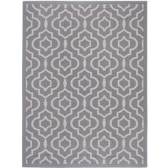 Safavieh Courtyard Anthracite Indoor Outdoor Rug - 8' x 11' (855 AED) ❤ liked on Polyvore featuring home, rugs and grey