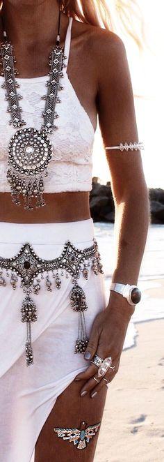 Bohemian jewelry sty  Bohemian jewelry style                                                                                                                                                                                 Más