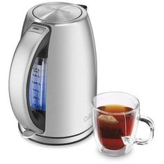 Electric Kettle Swivel Cordless Coffeemaker Hot Beverages Cocoa 1500 Watts #KettlesHome