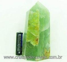Onix Azul Natural Pedra Lapidado Ponta Sextavado Raro Mineral Cod 441.2