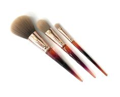 Amber Allure Make Up Brushes  CALA Products  #makeupbrushes #cosmeticbrushes #fall #calaproducts #glam