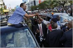 RAILA doesnt want to see this how UHURU was received in Kisumu (PHOTOs)