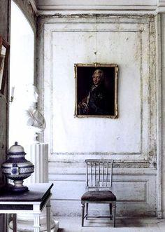Gustavian Style - swedish-gustavian-decorating-old-world-decor Swedish Decor, Swedish Style, Swedish Design, Swedish House, Scandinavian Style, Swedish Cottage, Cottage Chic, Wabi Sabi, Swedish Interiors