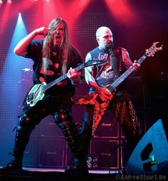 Slayer. Rest in peace Jeff. Metal isn't the same without you!