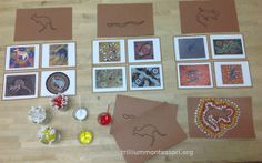 Learning About Australia - Trillium Montessori Aboriginal Education, Indigenous Education, Aboriginal Culture, Indigenous Art, Australia Continent, Australia Day, Aboriginal Art Dot Painting, Naidoc Week Activities, Around The World Theme