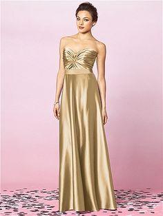 Venetian Gold Bridesmaid Dress