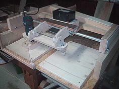 Kopierfräseinrichtung für die Oberfräse - Copy Carver...