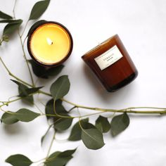 Pick 2 Amber Apothecary Candles