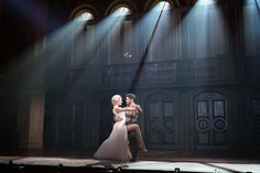 """Review: Josh Young and Caroline Bowman star in a revival of Andrew Lloyd Webber's 1979 Broadway smash, """"Evita,"""" with a strong cast worth celebrating."""
