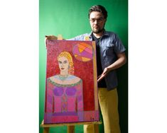 Original Portrait Painting by Ted Silvera