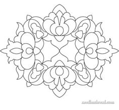 free bead embroidery patterns | ... embroidery patterns. Go to her Needle 'n' Thread blog post to get