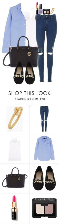 """""""Untitled #1709"""" by abigailtaylor ❤ liked on Polyvore featuring Kate Spade, Topshop, J.Crew, Henri Bendel, Carvela Kurt Geiger, Bobbi Brown Cosmetics, NARS Cosmetics and OPI"""