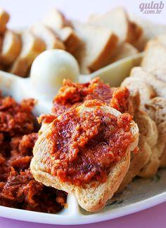 Pasta de tomate seco