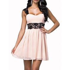 81018003fabf Letní šaty s krajkou krajkové šaty S M L XL Krátké Šaty
