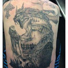 In progress! Tattooed by Jay