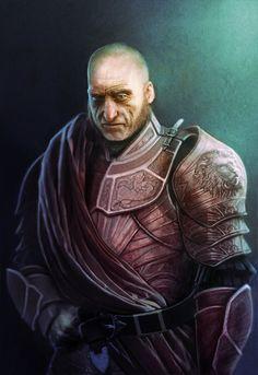 Tywinn Lannister by Fabio Leone