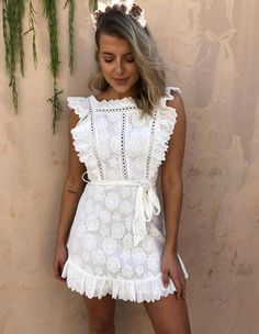 Exceptional boho dresses are offered on our web pages. look at this and you wont be sorry you did. Lace Summer Dresses, Blue Dresses, Short Dresses, Maxi Dresses, Wedding Dresses, White Lace Mini Dress, Lace Dress, Elegant Dresses For Women, Ladies Dresses