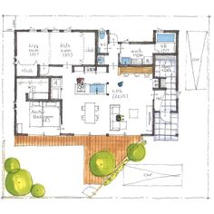 清家修吾さんはInstagramを利用しています:「. 【ボツプラン410】 洗面所横のWICは、廊下からも使えるようにしたいって要望を受けての設計かもしれませんが、この近距離にドアつけすぎです。実際に家が完成したら『このドア要らんかった』ってなりそう。 .…」 Kits For Kids, Japanese House, Art And Architecture, Master Bedroom, Floor Plans, Flooring, How To Plan, Inspiration, Instagram