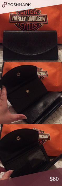 Harley Davidson Wallet with check book Harley Davidson Wallet with check book, brand new never used with out tags Harley-Davidson Bags Wallets