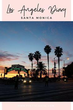 Los Angeles Diary - Santa Monica Photo Diary | De retour de mon aventure californienne, on commence en douceur avec un premier article sur Santa Monica, ses magnifiques plages et ses couchés de soleil à vous couper le souffle.