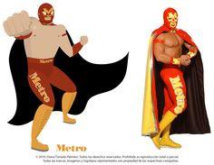 diseño grafico luchadores - Buscar con Google