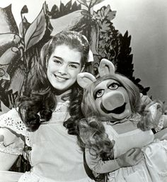 Brooke Shields as Alice in one episode of The Muppet Show - 1980.