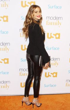 Sofia Vergara Red Carpet Photos - Modern Family Fan Appreciation Day in Westwood